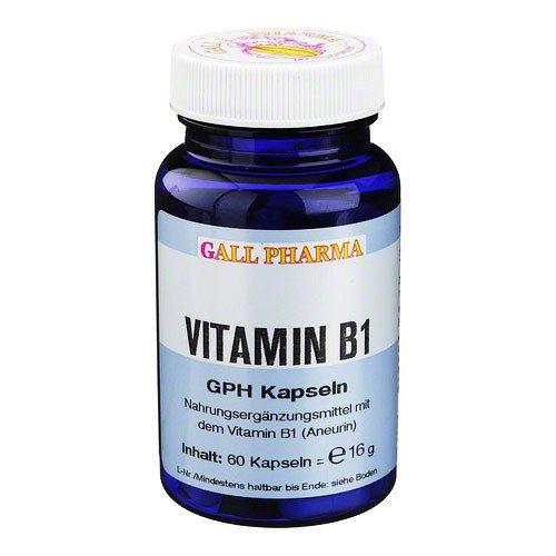 vitamin b1 gph 1 4 mg kapseln 60 st kapseln 1. Black Bedroom Furniture Sets. Home Design Ideas